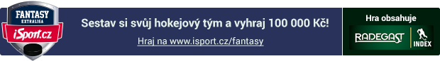 Sestav si hokejový tým a vyhraj na www.isport.cz/fantasy