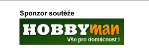 Sponzor soutěže - HobbyMan