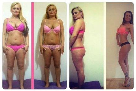 Češka dokázala nemožné! Z baculky je za rok účastnicí Bikini Fitness, zhubla 38 kilo