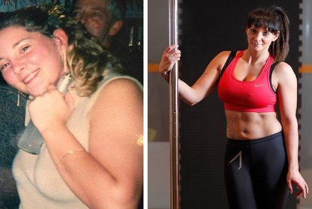 Tanec u tyče jí zachránil život! Zhubla 35 kilo a porazila depresi