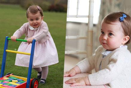 Co dostala malá britská princezna Charlotte, která oslavila první narozeniny?