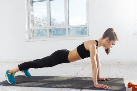 Pevná prsa díky cvičení? Vyzkoušejte kliky, ale dělejte je správně!