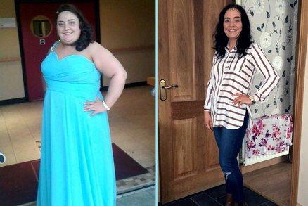 Ve třiceti letech nikdy nezažila vážný vztah, tak se rozhodla zhubnout