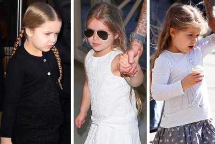 Harper Beckham jako módní ikona! Jak se vám líbí?