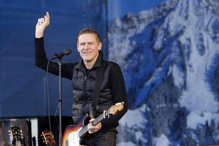 Kanadská superstar Bryan Adams vystoupí v Brně: Jeho zvláštní požadavek? Vlastní kuchař!