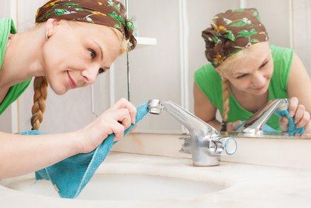 6 tipů pro čistou koupelnu aneb Uklízejte jako profík