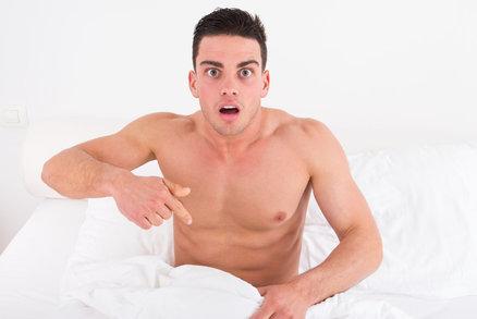 Šokující zjištění: Tohle muže znervózňuje při sexu
