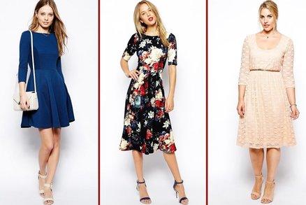 Top 20 podzimních šatů: Frčí dlouhý rukáv, vzory i krajka!