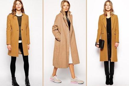 Podzimní hit: Kabát velbloudí barvy! Ten musíte mít!