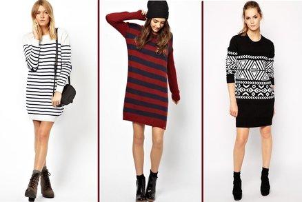 Elegance a pohodlí v jednom: Pořiďte si svetrové šaty!