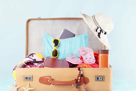 Jak si zabalit kufr na dovolenou krok za krokem