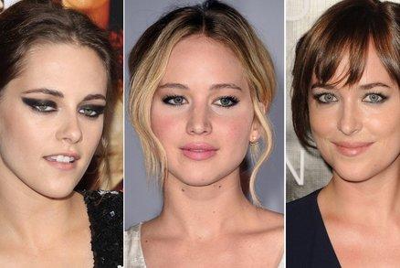 Za rebelku, nebo za hodnou holku? Inspirujte se líčením hollywoodských hvězd