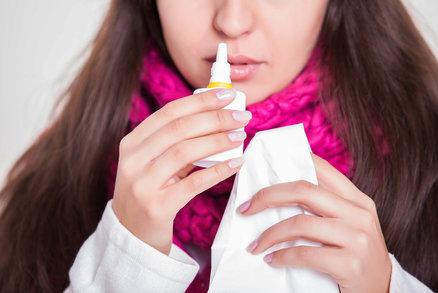 Kapky do nosu se nesmějí používat déle než týden: Víte proč?