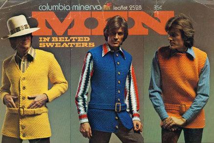 Horečka sobotní noci! Největší retro módní hity z pánské kolekce