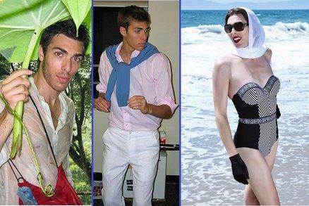 Bývalý model je dnes modelkou! Rodina se však s jeho proměnou nikdy nesmířila!