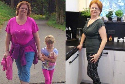 Lucie nedrží dietu, nejí doplňky stravy, a přesto zhubla o 23 kilogramů. Jak to dokázala?