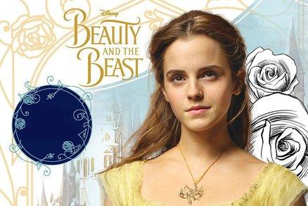 Nádherná Emma Watson jako Kráska v nové pohádce. Podívejte se na trailer!