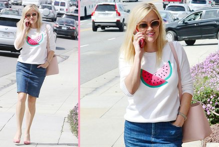 Styl podle celebrit: Mladistvý outfit Reese Witherspoon