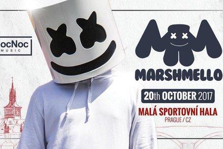 Marshmello vystoupí poprvé v Česku! Maskovaný DJ vystoupí v Praze