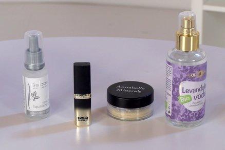 Vyzkoušeno před kamerou: Ideální make-up na léto a suchý olej na pleť