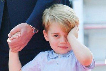 Princ George slaví čtvrté narozeniny: Podívejte se na jeho nejvýznamnější okamžiky!