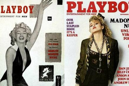Od Marilyn po Madonnu: Kdo toužil být na titulce Hefnerova Playboye?