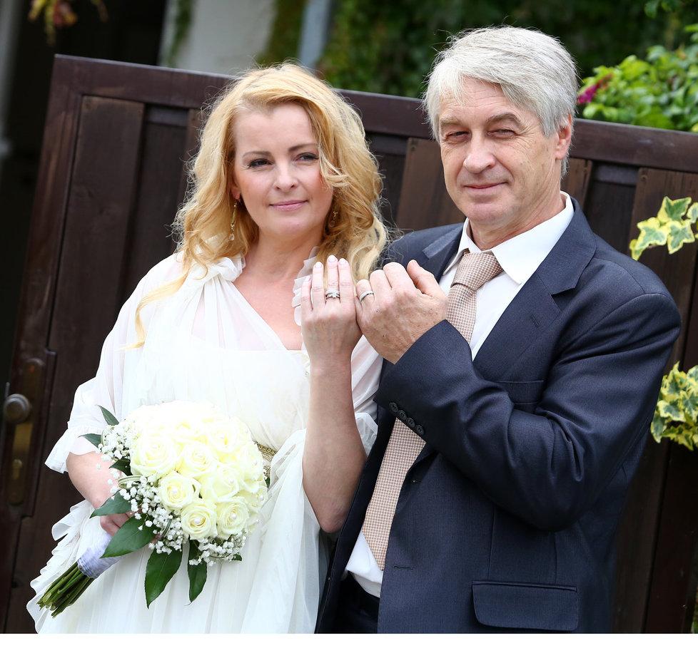 Iveta se vdala