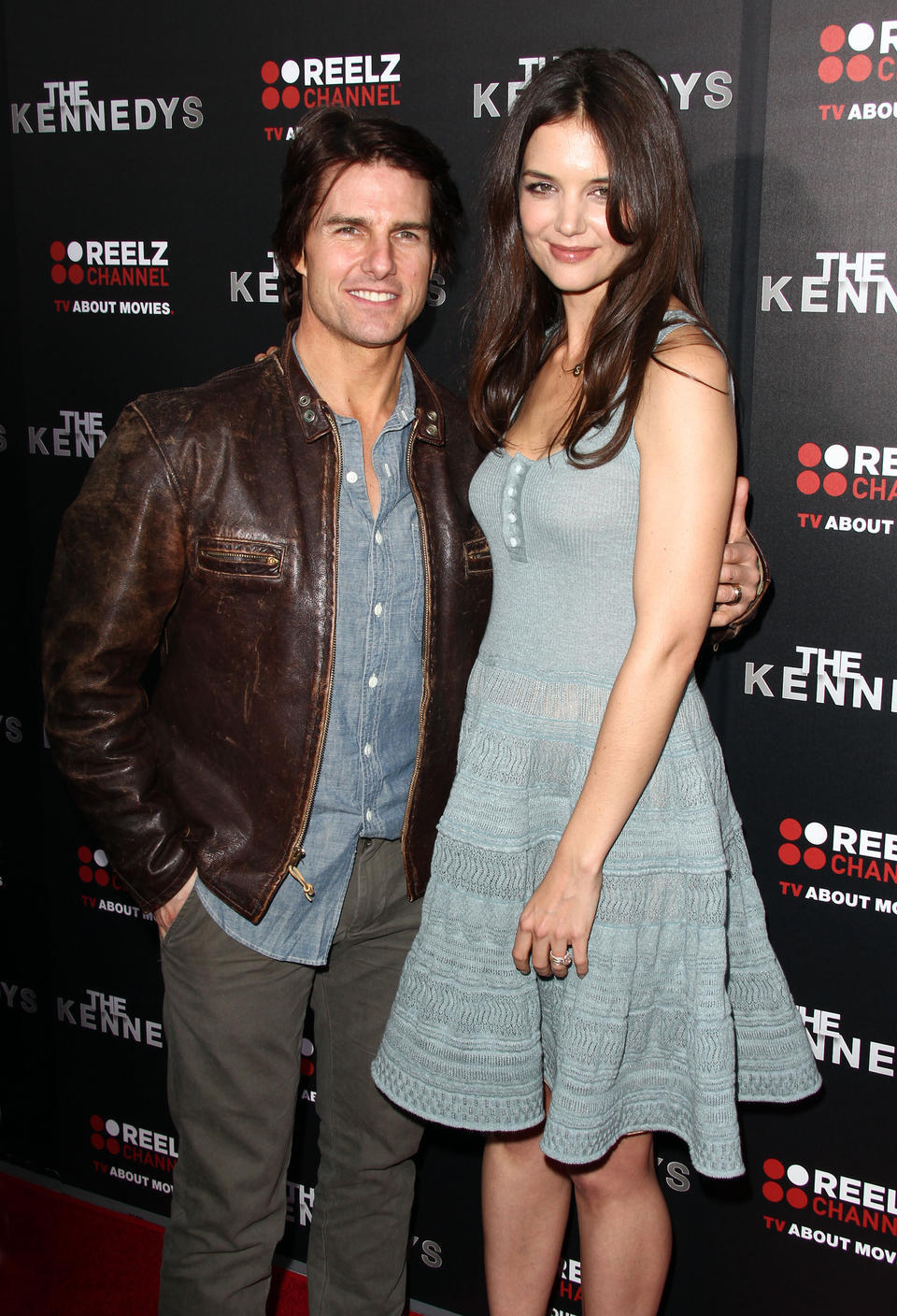 Tom Cruise a Katie Holmes.