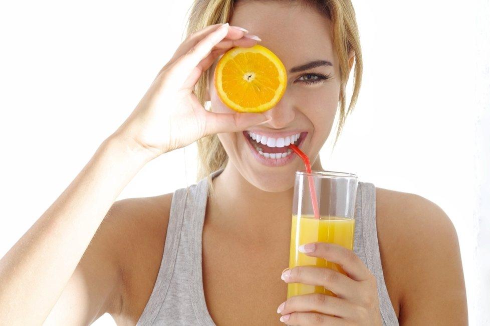 V zimě zvyšte přísun vitamínů.