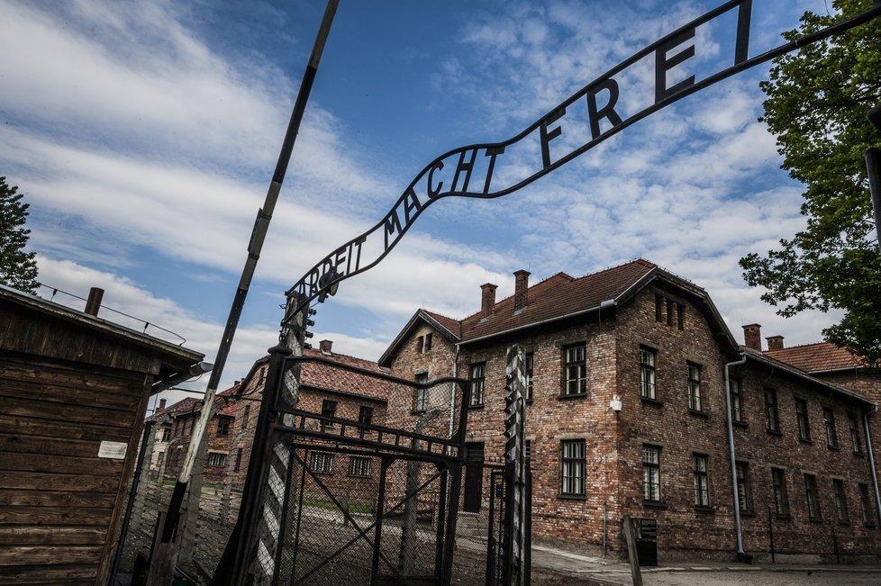 V Osvětimi bylo zavražděno téměř milion Židů.