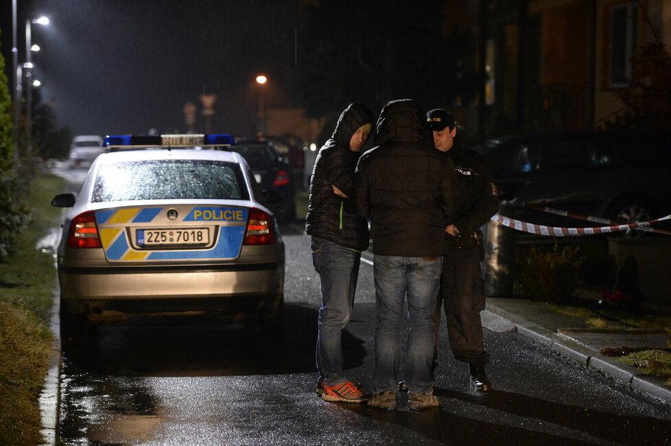 Manželka střelce z Uherského Brodu se zabarikádovala v bytě. Na místo musela vyrazit zásahovka