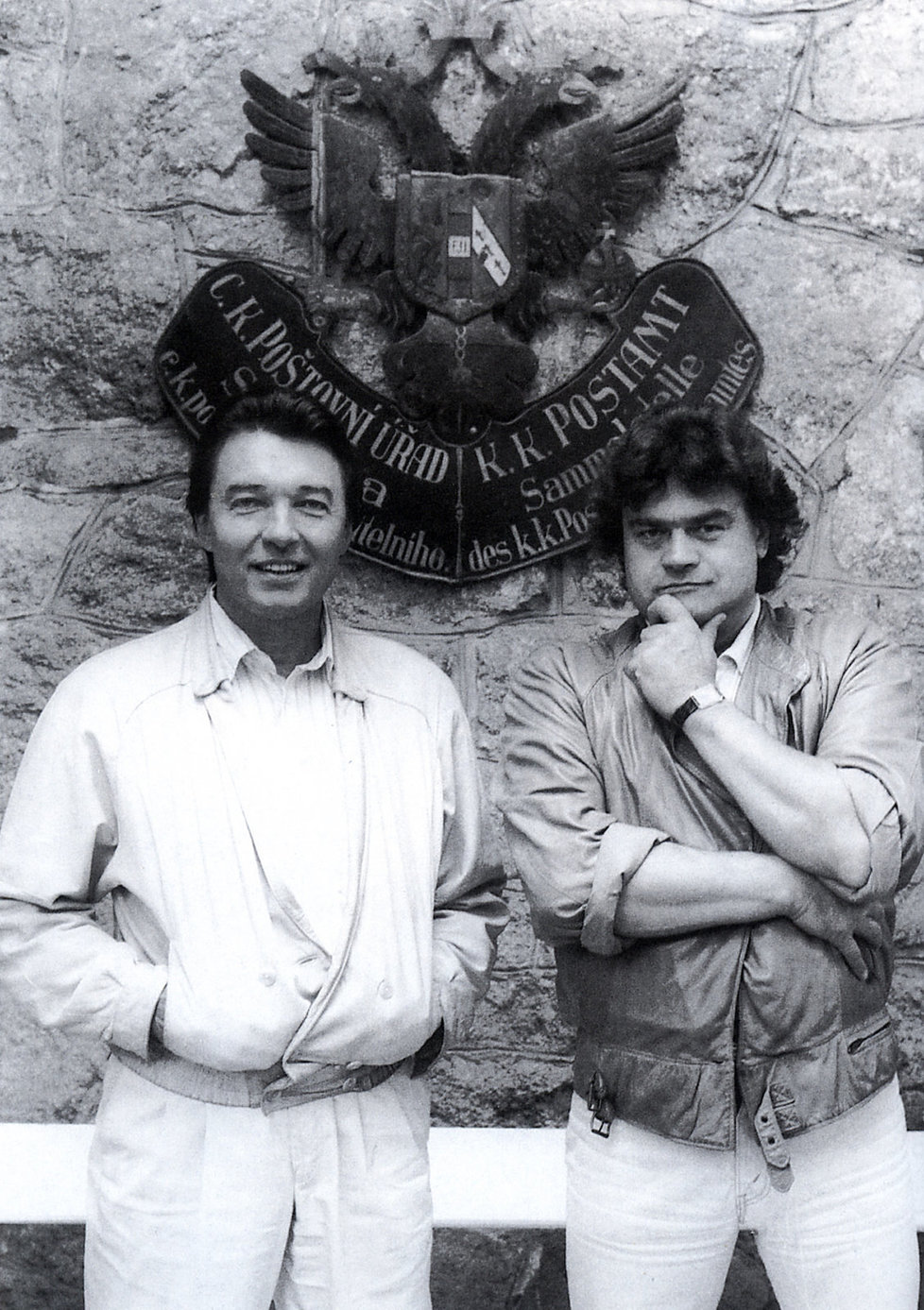 Karel Svoboda a Karel Gott