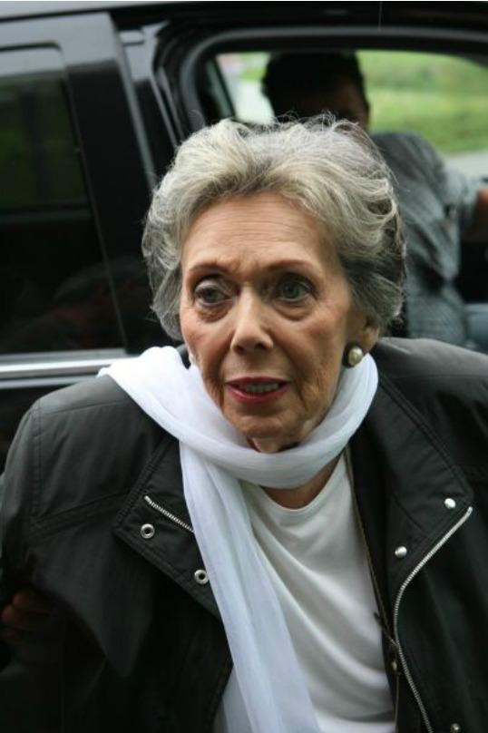 Herečka Jiřina Jirásková (+81)