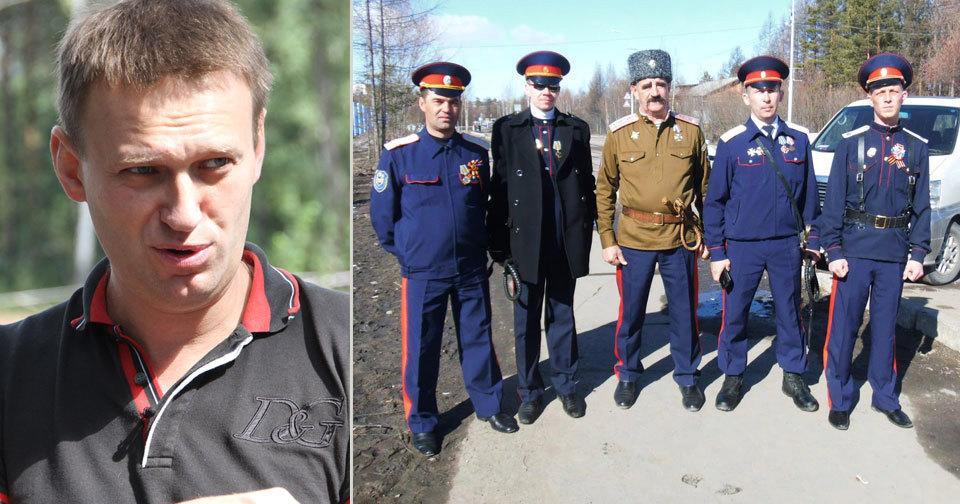 Navalnyj dostal nakládačku: Na jihu Ruska ho zbili kozáci. (ilustrační foto)
