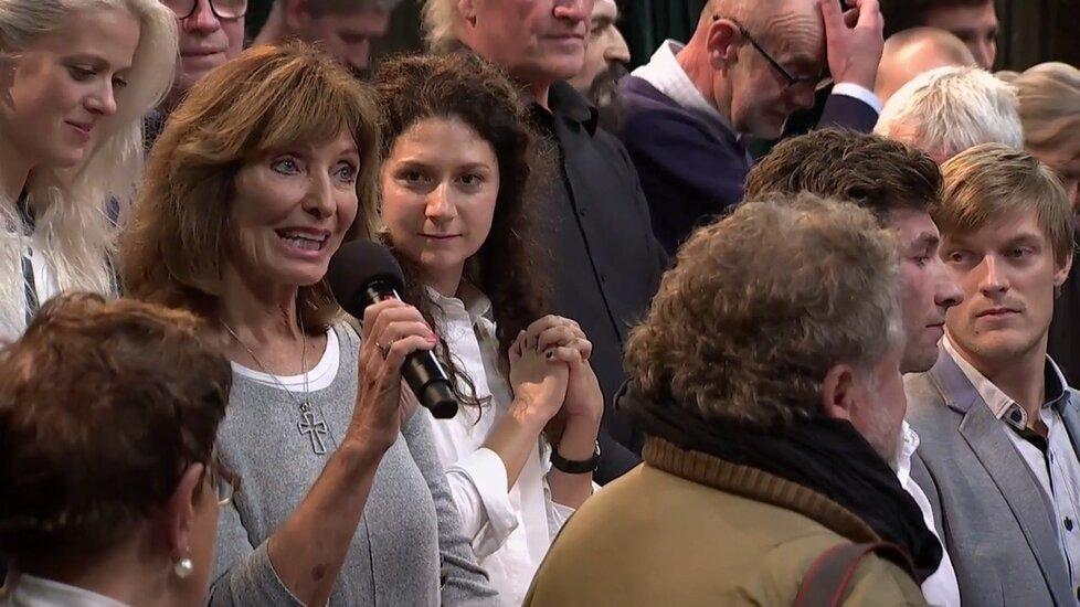 Sešlost v show u Krause: U mikrofonu Magdalena Dietlová