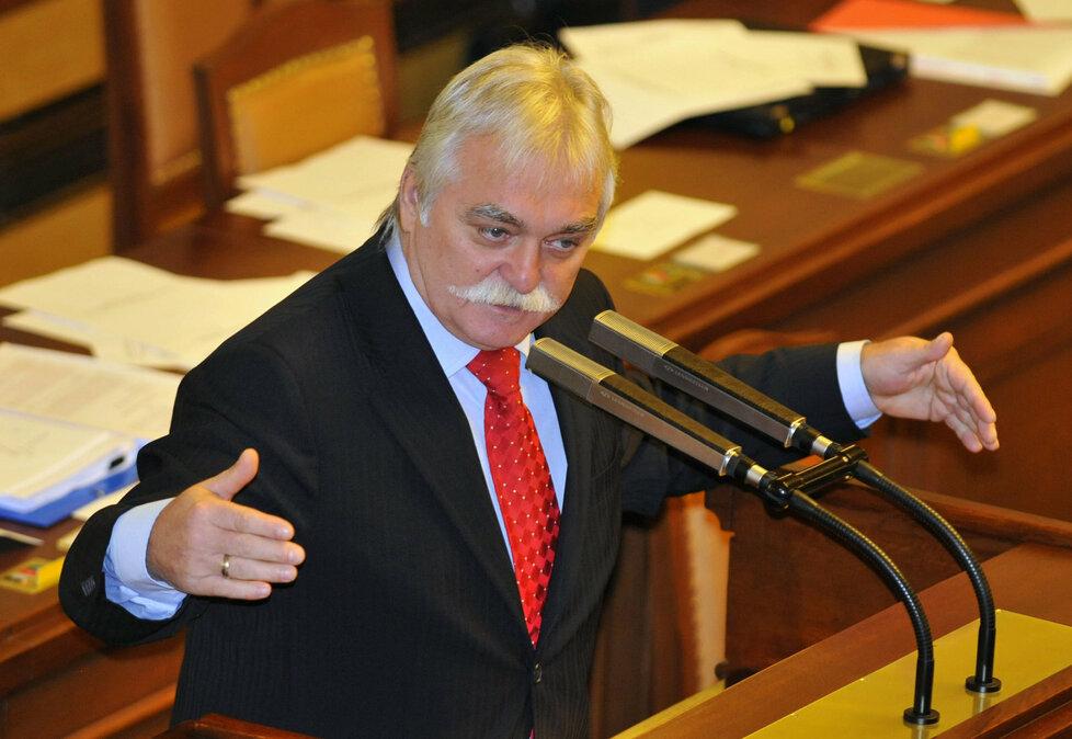 Milan Urban ve Sněmovně
