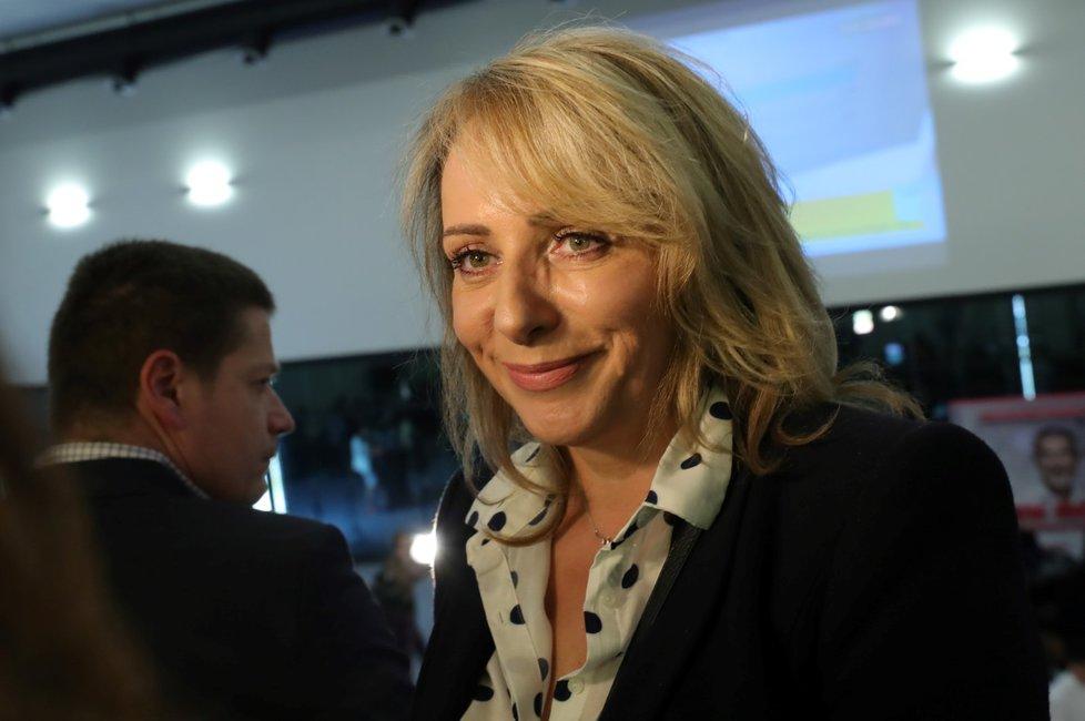 Mezi své spolustraníky dorazila i primátorka hlavního města Adriana Krnáčová