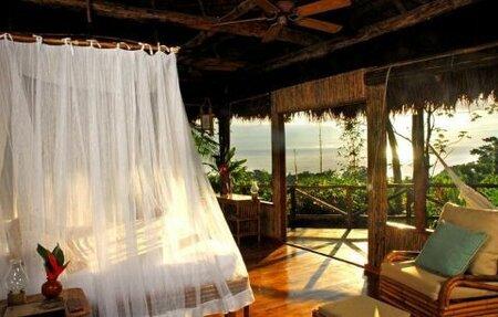 V Ekoresortu na Kostarice je všechno ze dřeva a luxus se tu snoubí s ekologií.
