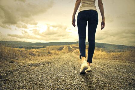 Chůze je skvělá nejen pro zdraví, ale lze jí i hubnout.