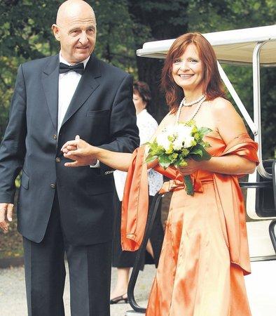 Malá letní svatba Ondřeje Neffa a Ljuby Krbové