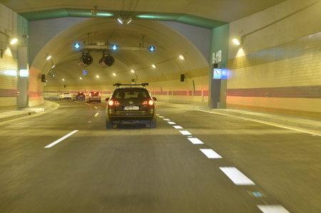 Tunel blanka provoz