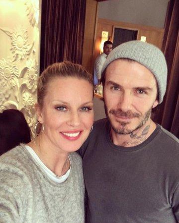 Simona Krainová potkala na výletě v Paříži Davida Beckhama.