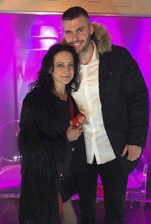 Lucie Bílá s přítelem Radkem Filipim