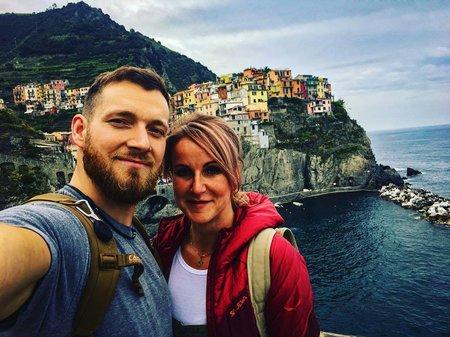 Vendula Pizingerová s manželem