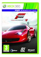 Forza Motorsport 4 jsou realistické závody ovládané i pohybem