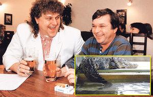 Odsouzený gauner Jonák má vězeňskou stravu, jeho krokodýla hýčkají kuřecím masem