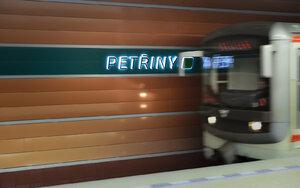 Na lince metra A nejezdilo metro: Policisté prověřovali odložené zavazadlo
