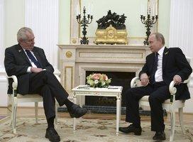 """Studie: Zemana využívají ruská média k propagandě. Z Česka je """"fanoušek Kremlu"""""""