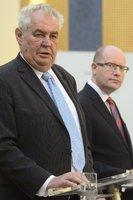 Prezidenta Zemana zřejmě čeká soud, vypovídat by měl kvůli sídlu ČSSD