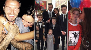 Beckhamovic šťastná rodinka: Podívejte se do rodinného alba Victorie a Davida